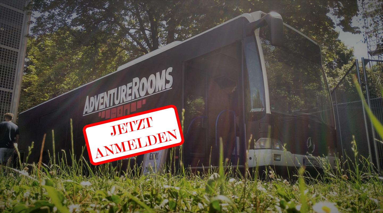 AdventureRooms on Tour – Buchung